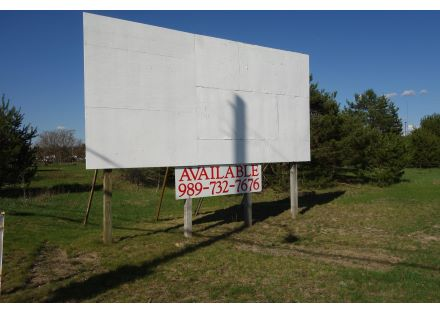 Vacant lot w/Billboard