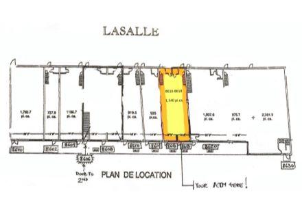 8616-8618 Centrale plan