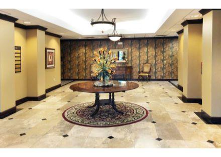 1709 hermitage interior foyer