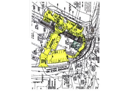 8000 yellowed site plan w 1307 sf crosshatched
