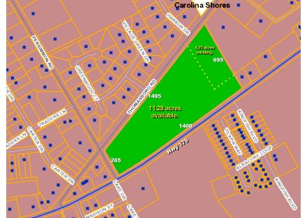 Hwy 179 & Persimmon Rd Calabash -  Map 2