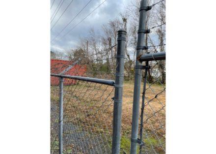 rear fenced storage