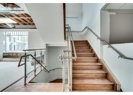 Interior View of Custom Staircase
