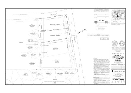 subdivision plat_parcels 4 & 5