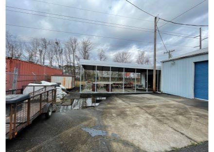car port  shed