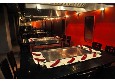 Hibachi tables lower