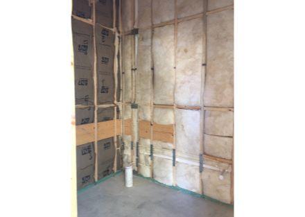 restroom insulation