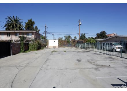 Inside the lot 3113 E Imperial Highway