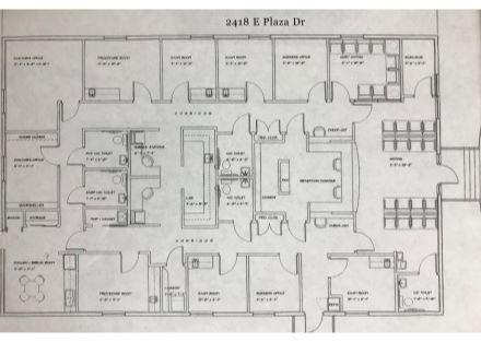 2418 E Plaza Dr floor plan