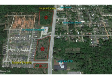 Judson Rd. 9.55 Acres Aerial 2
