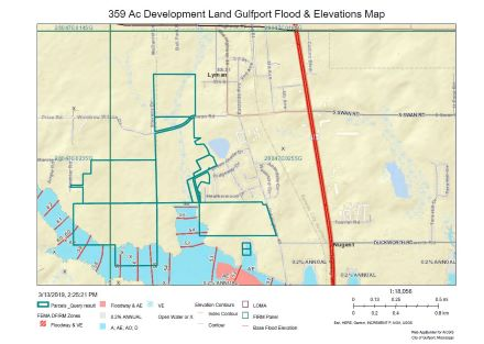 Gulfport Elevations and Flood Map