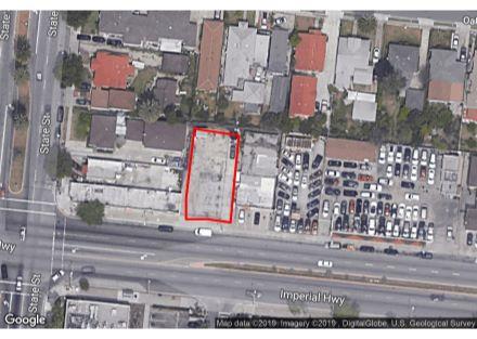 3113 Imperial Highway Lynwood Aerial Pic