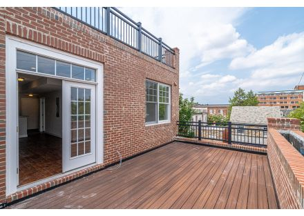 Exterior View of Lower Private Residential Deck