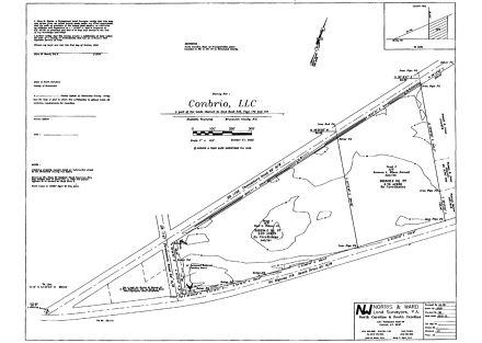 Hwy 179 & Persimmon Rd Calabash - Site Plan - Original Plat before Woda Cooper Sale