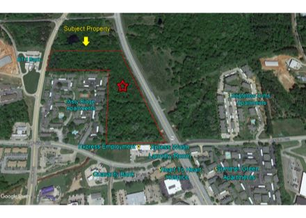 Judson Rd. 15.93 Acres Aerial 2