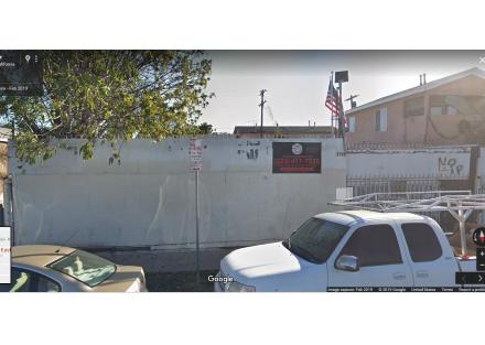 1140 E 58th Drive Front Gate