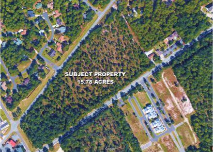 Hwy 179 & Persimmon Rd Calabash - Satellite Image - Original Parcel