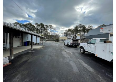 asphalt laydown yard 1