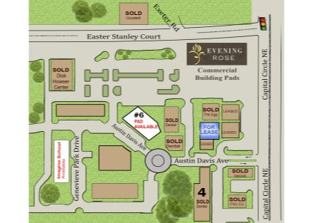 EVENING ROSE 2020 SITE MAP ONLY
