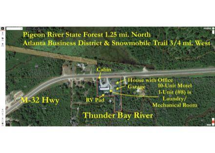 Timber Lodge Motel on Thunder Bay River