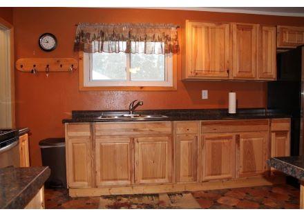 House Kitchen Sink View