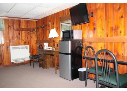 Motel Interior - Standard Equipment