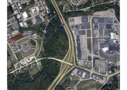 Niagara Village Aerial with Mall